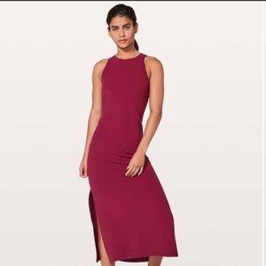 NWOT lululemon get going dress size 12